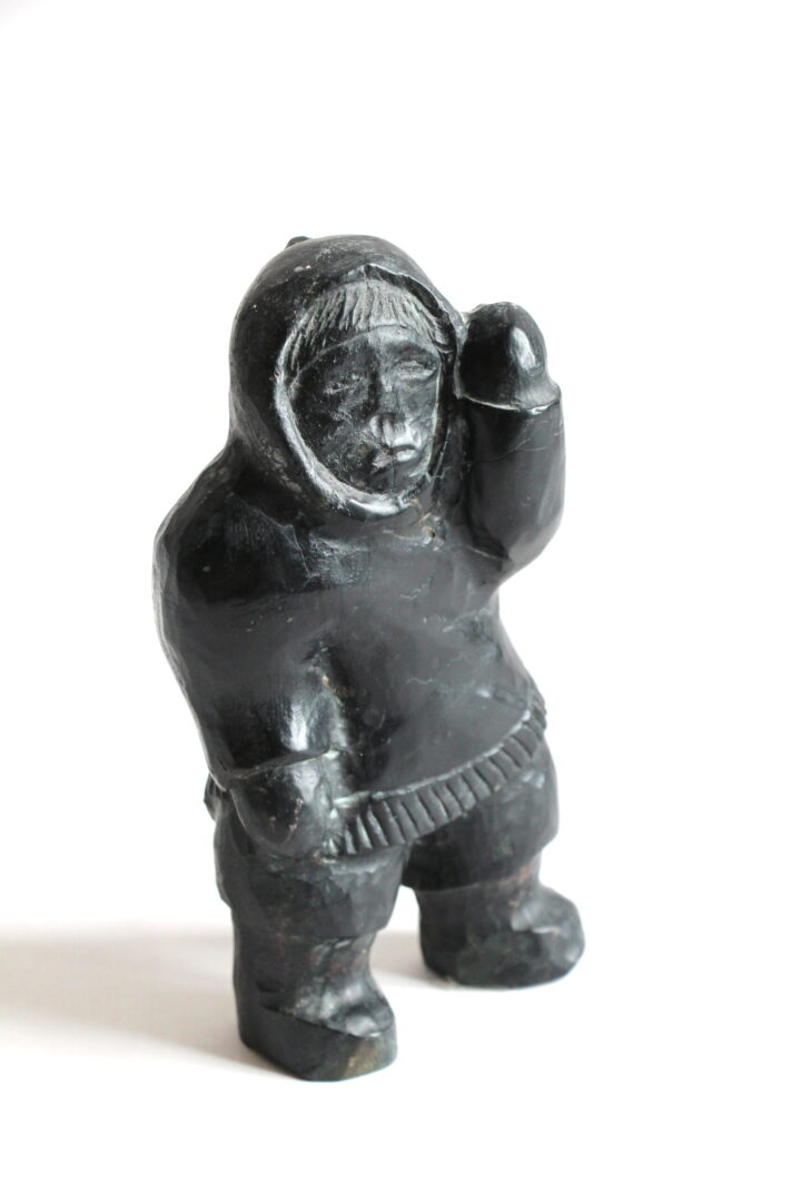 inuk Inuit Art Sculpture in basalt