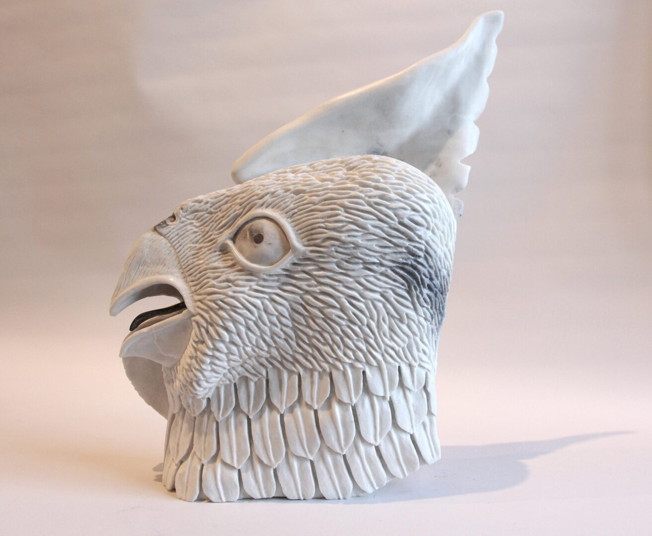 transformation Inuit Art Sculpture in marble