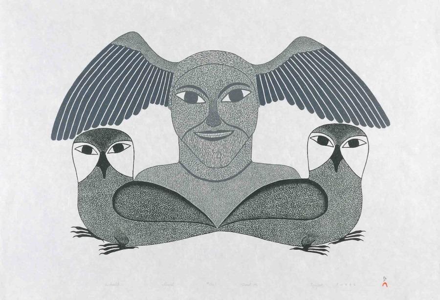 Issharulik Inuit Art Litograph