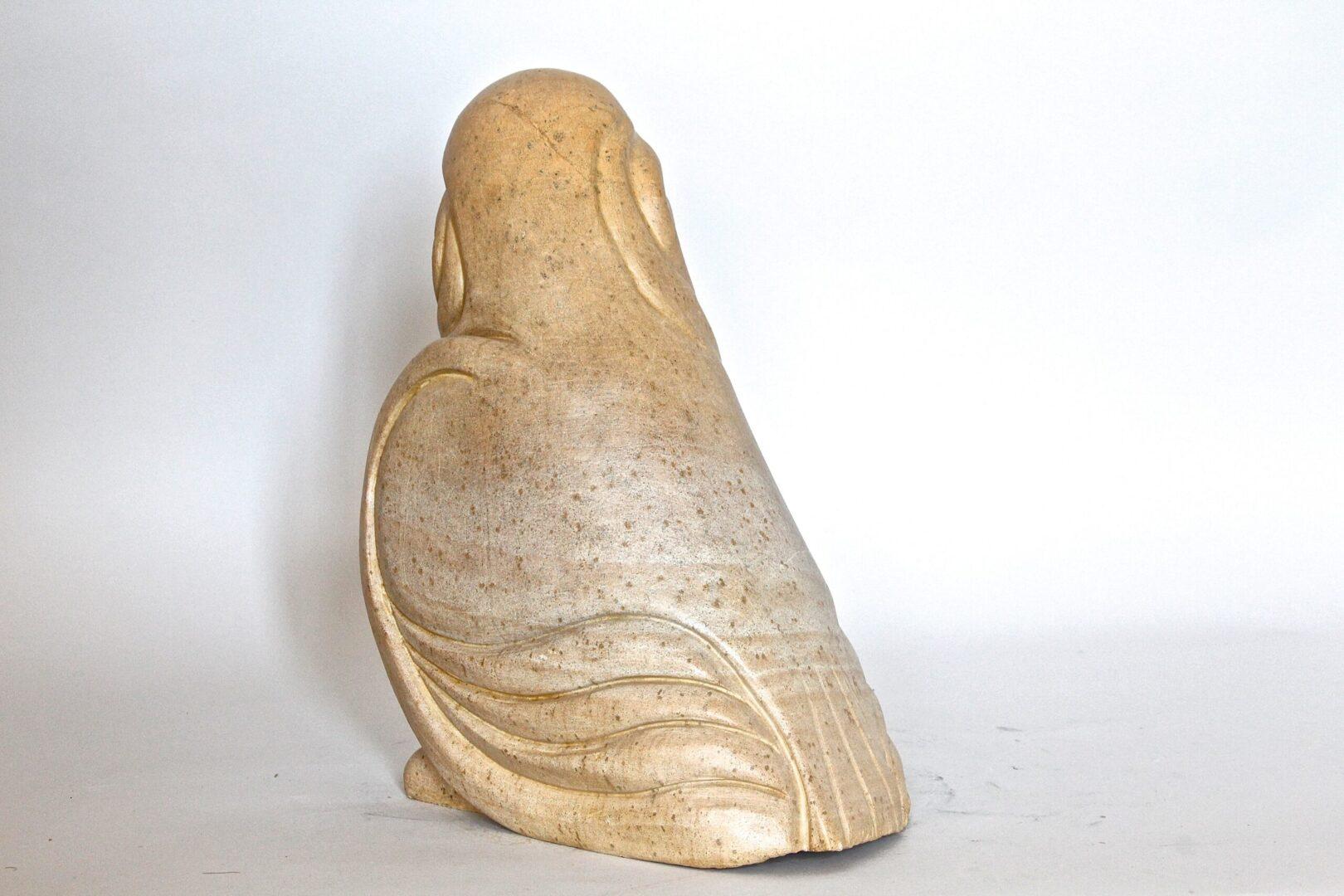 Bird woman inuit sculpture soapstone