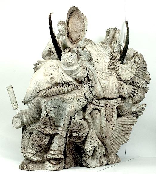 Inuit Art Sculpture in whale bone