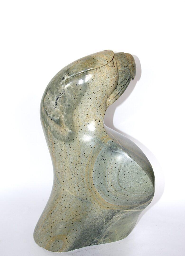 Eagle Iroquois Art Sculpture in soapstone