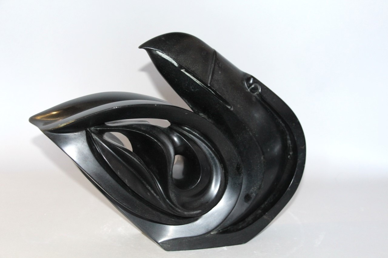 raven in the wind first nation Art Sculpture in Serpentine