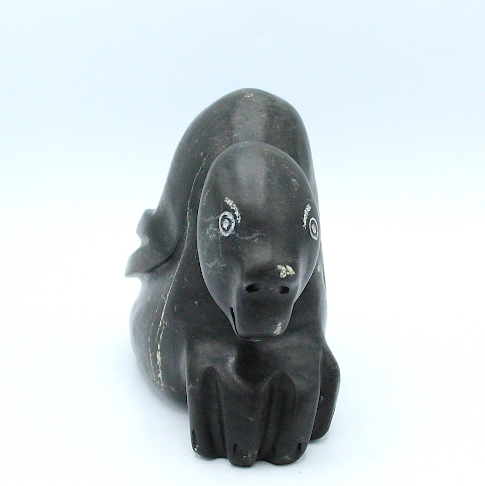 transformation Inuit Art Sculpture in basalt
