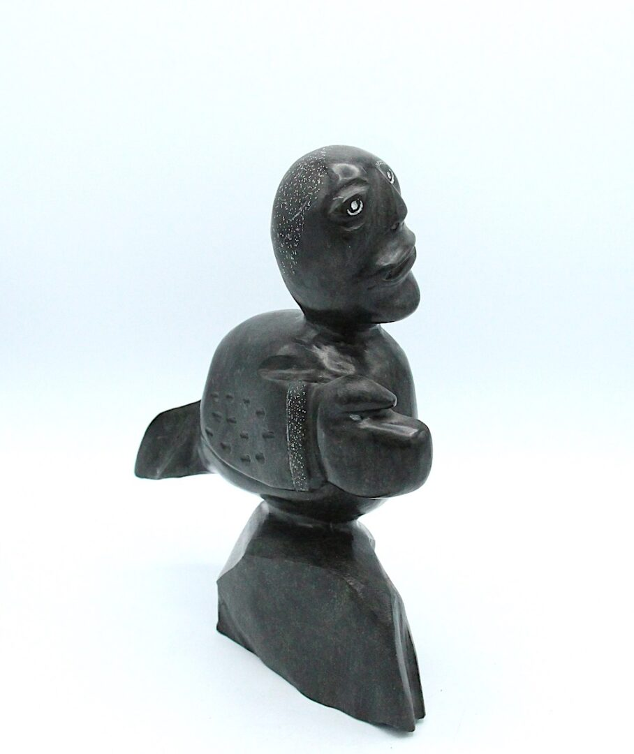 transformation Inuit Art Sculpture in basalt