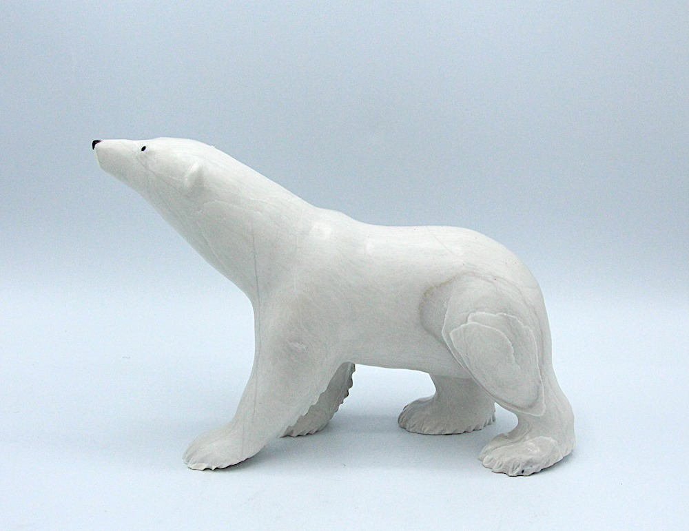 bear Inuit Art Sculpture dolomite