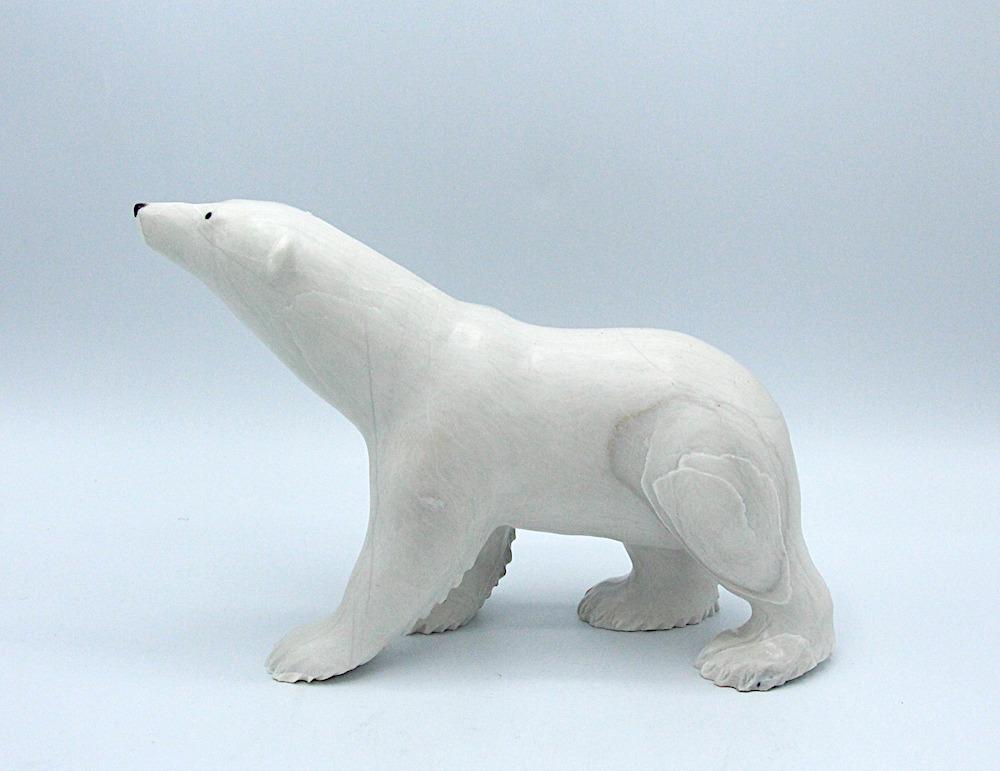bear Inuit Art Sculpture dolomite