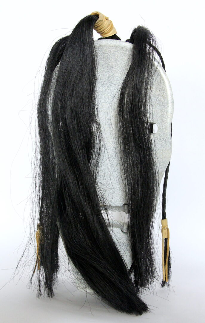 mask Ojibway art sculpture serpentine