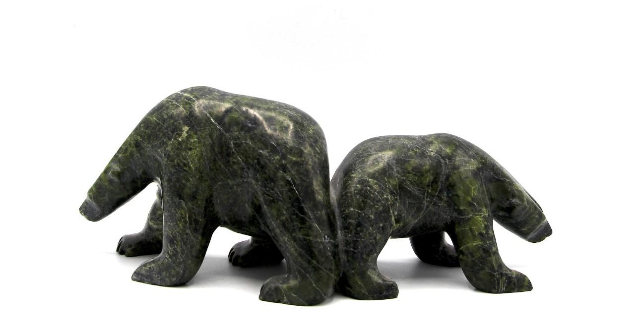 Bear Inuit Sculpture Cape Dorset