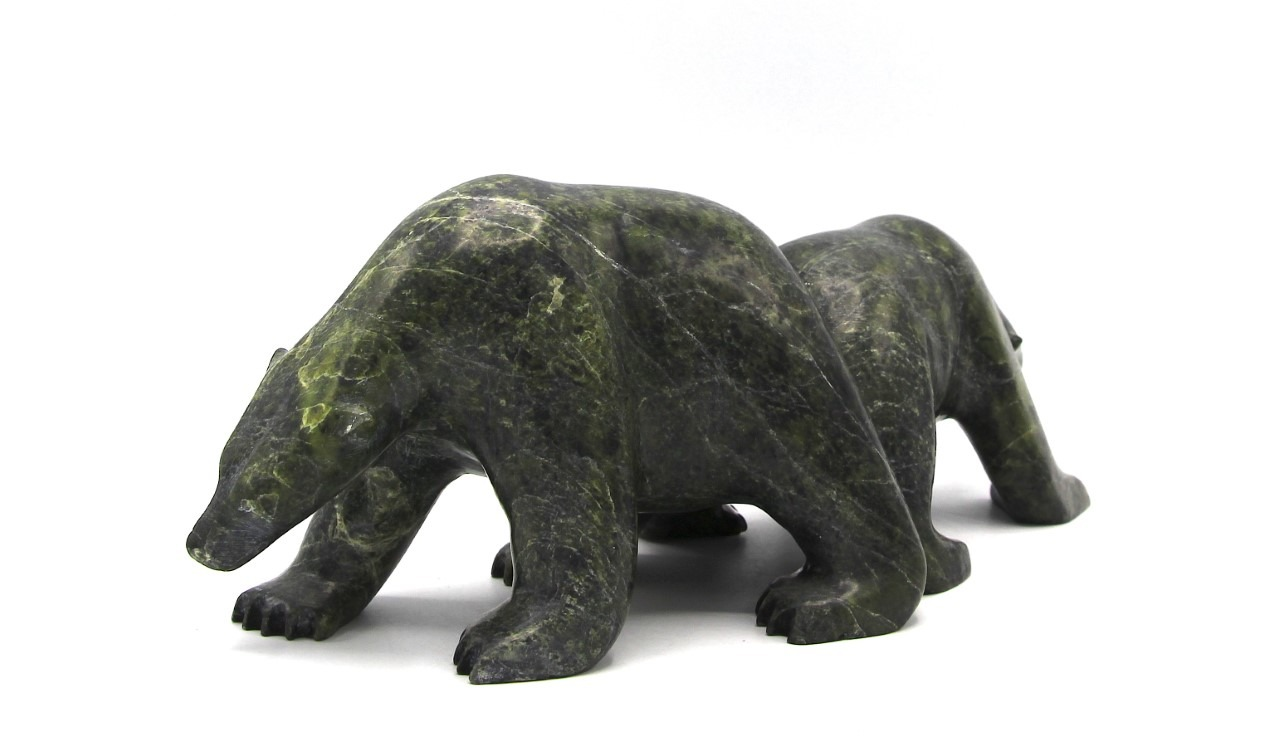 Bear Inuit Sculpture Cape Dorset