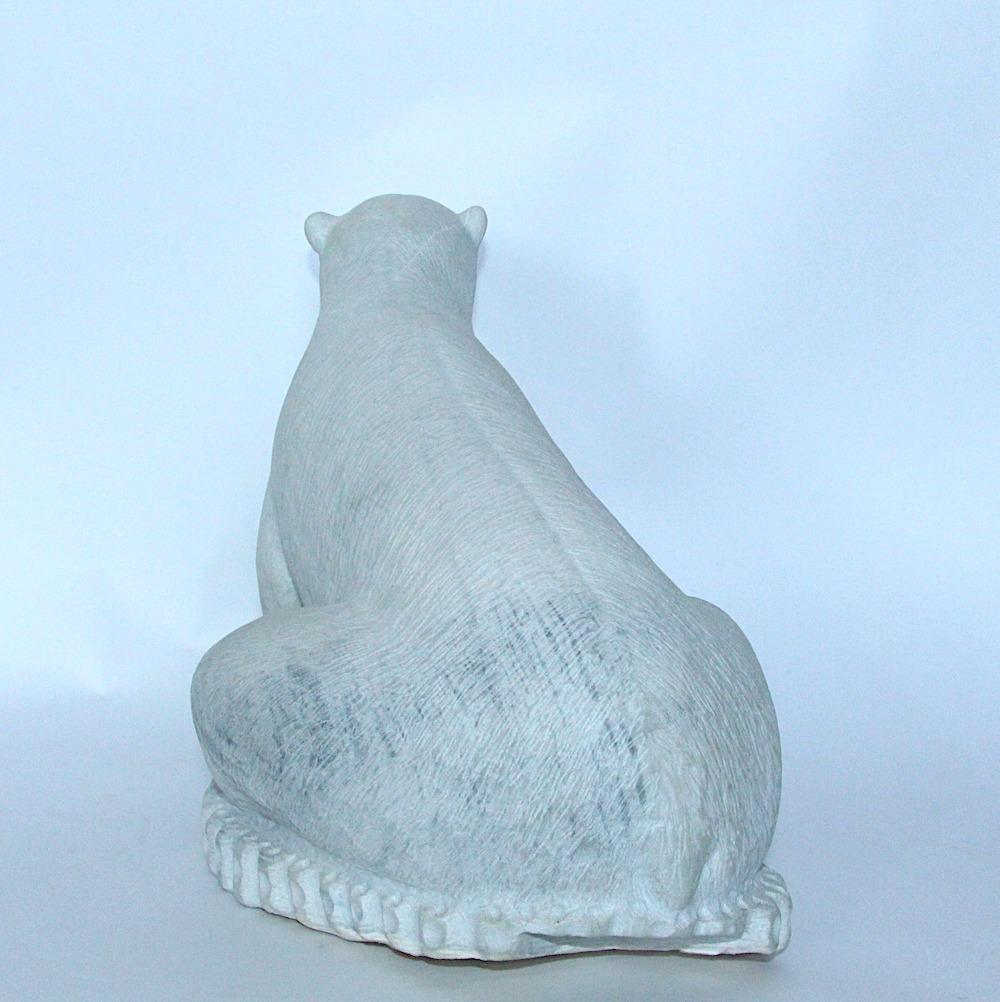 bear Inuit Art Sculpture in marble