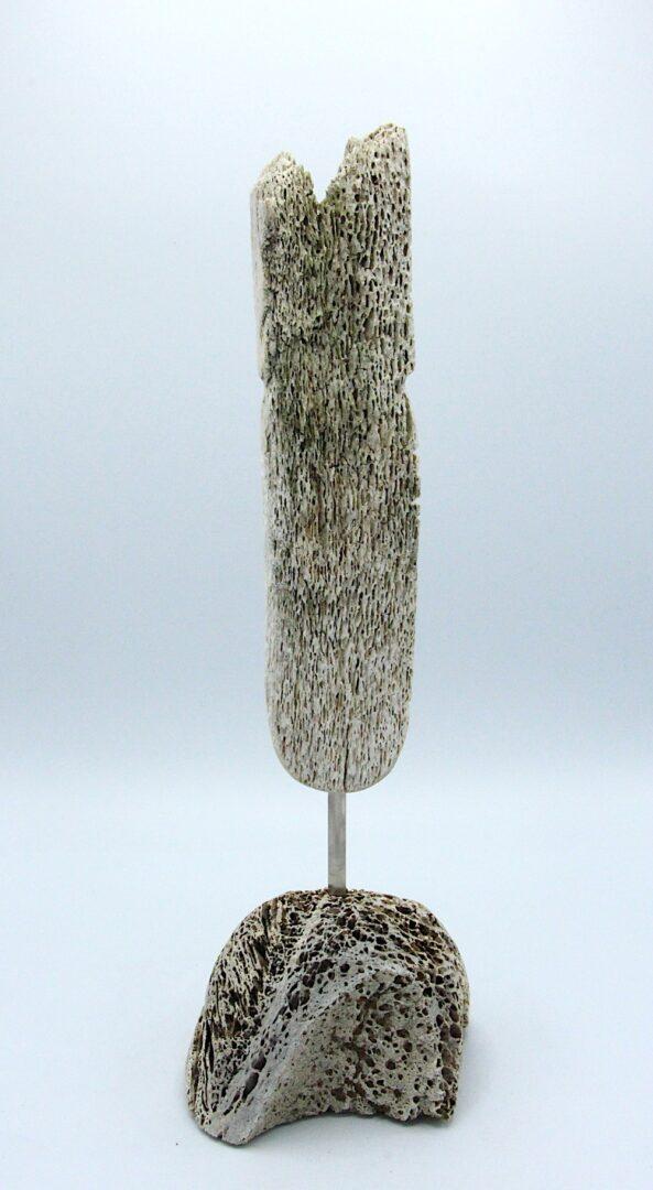 face inuit art sculpture in whale bone