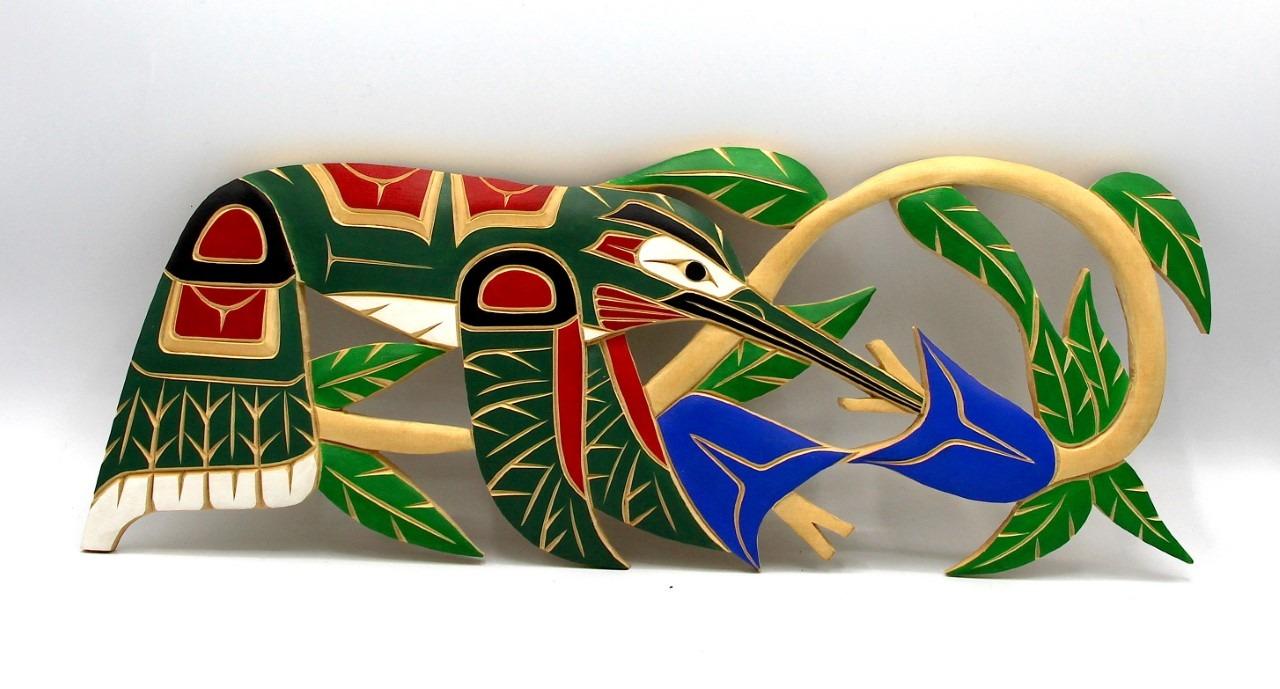 Humming Bird Squamish nation Cedar wood