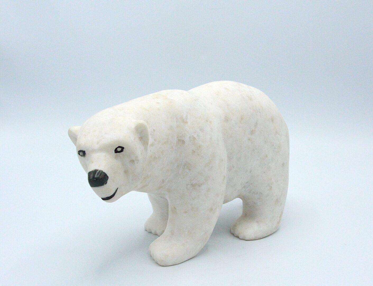 bear inuit art sculpture marble