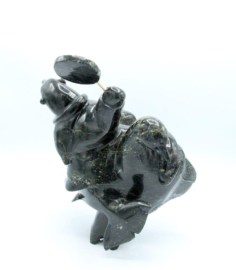 transformation Inuit Art Sculpture in Serpentine