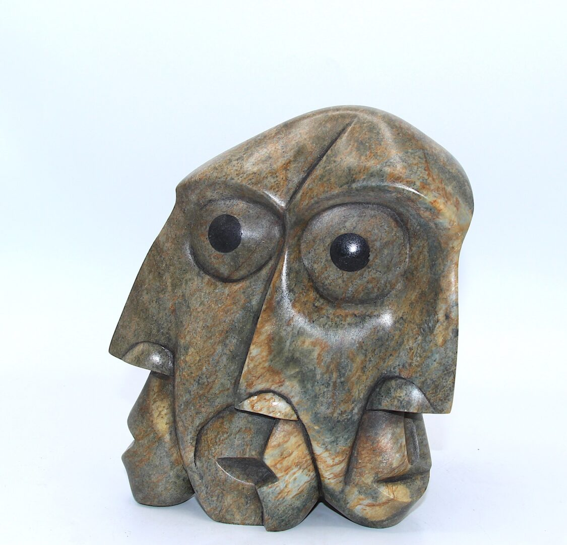 opening days iroquois art sculpture made in soapstone