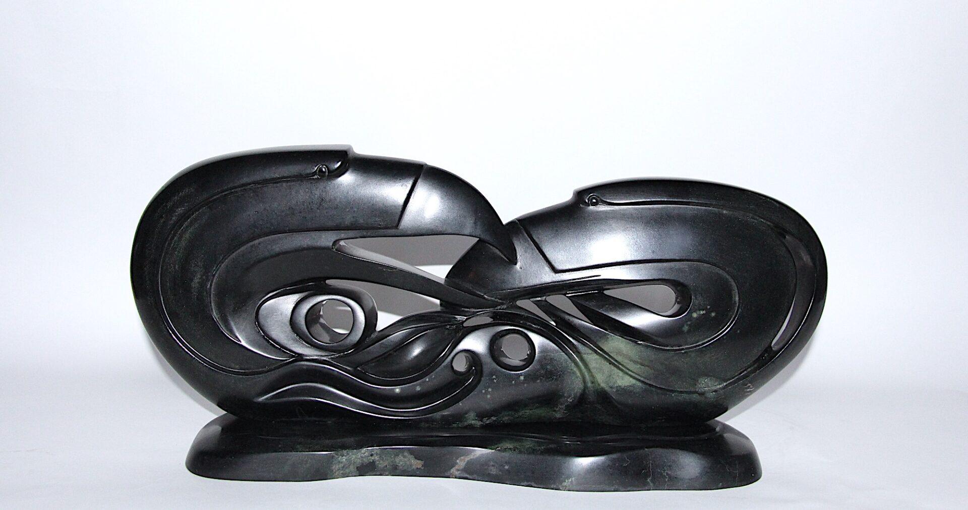 strong bond first nations Art Sculpture in Serpentine