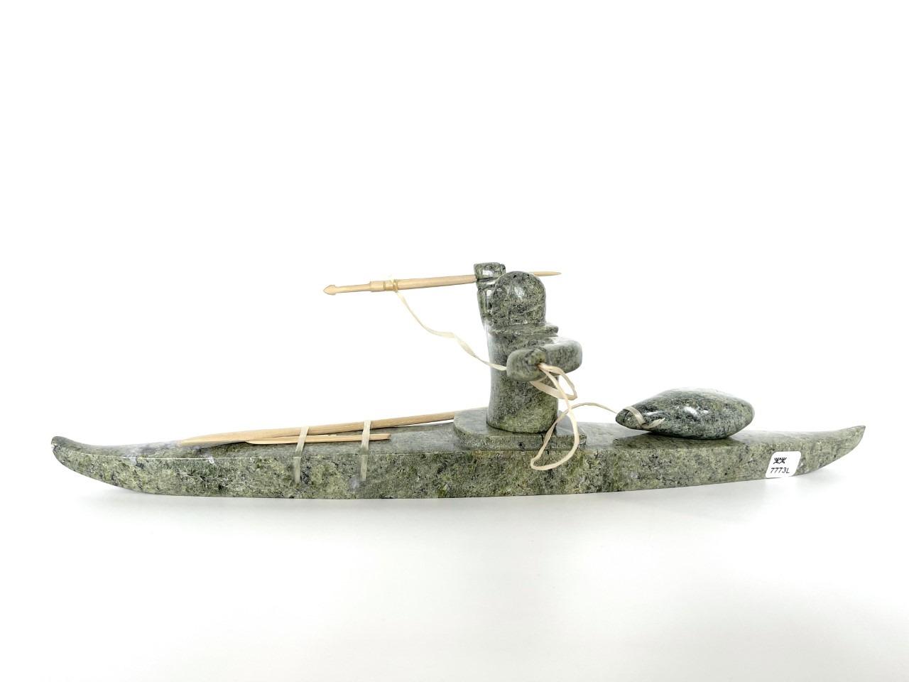 Hunter on Kayak 77731