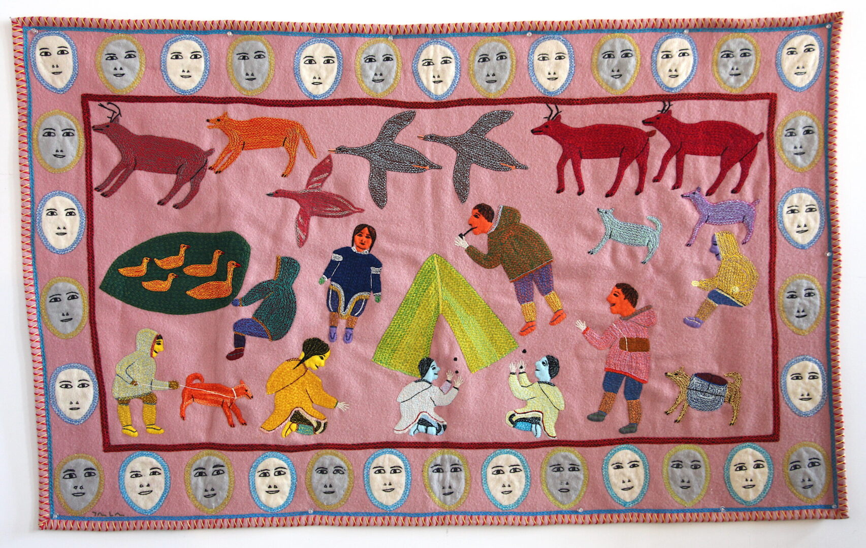 Wall Hanging Baker Lake Mary Kuutsiq Mariq