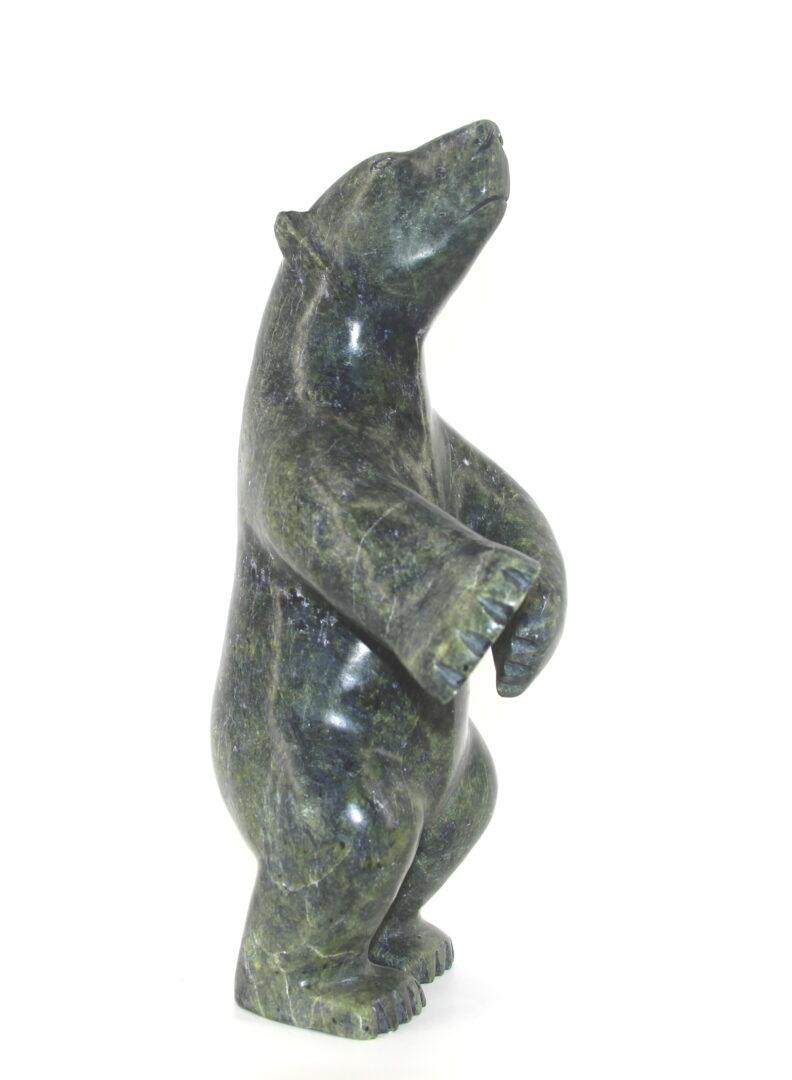 Bear 267876 inuit art sculpture made of serpentine stone cape dorset
