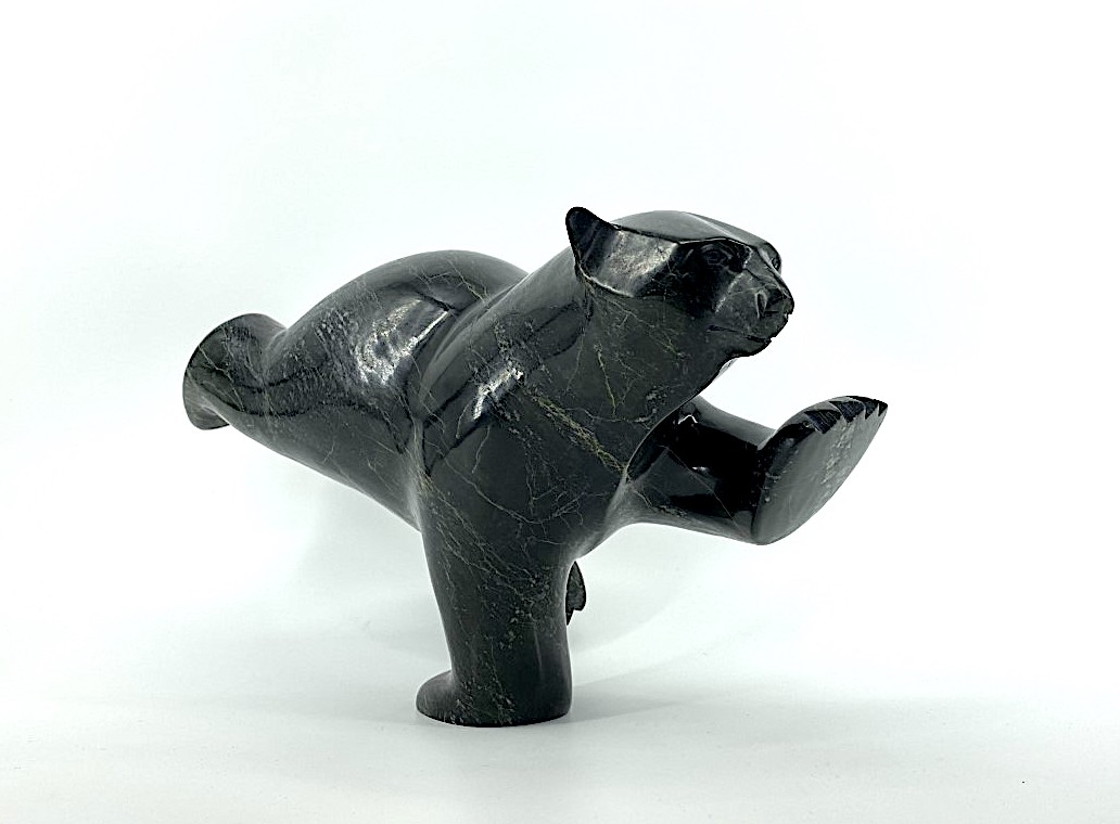 Bear 18468 by Asheva Adla from Cape Dorset by serpentine