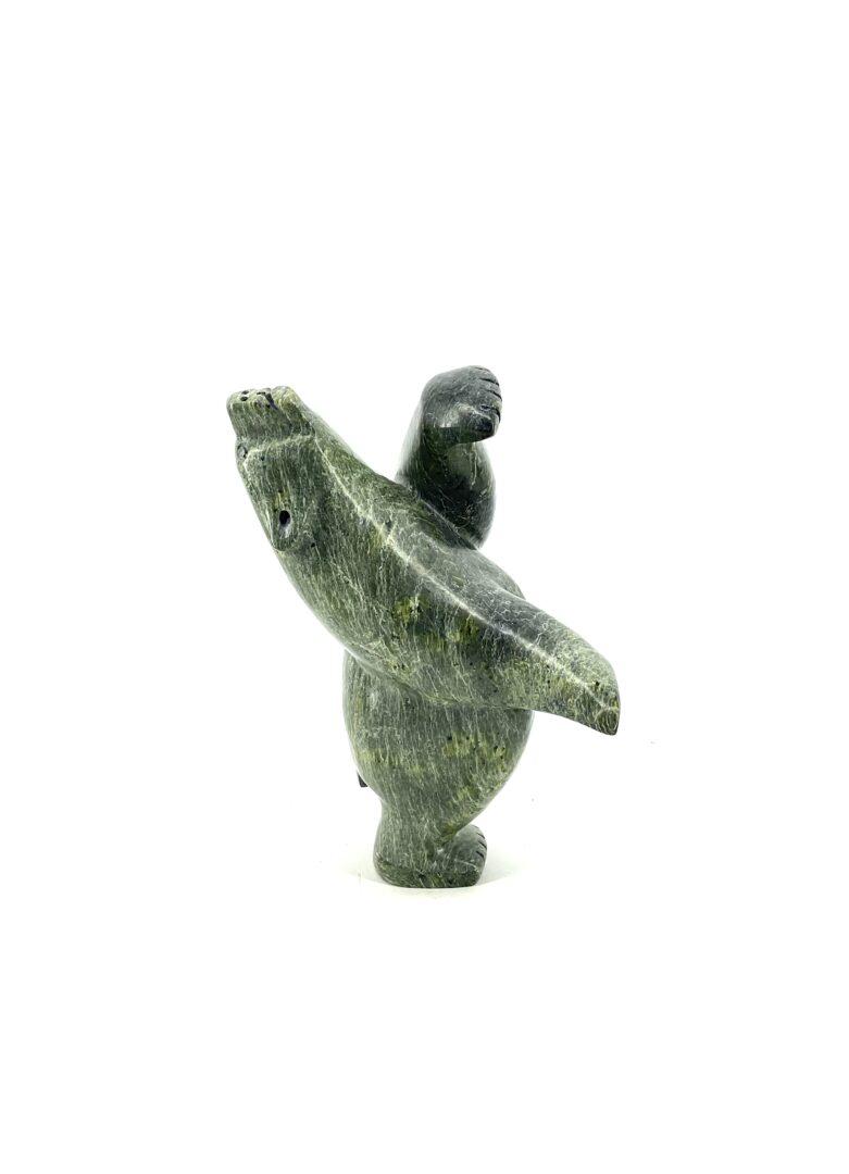 One original inuit art sculpture hand carved by Adamie Mathewsie