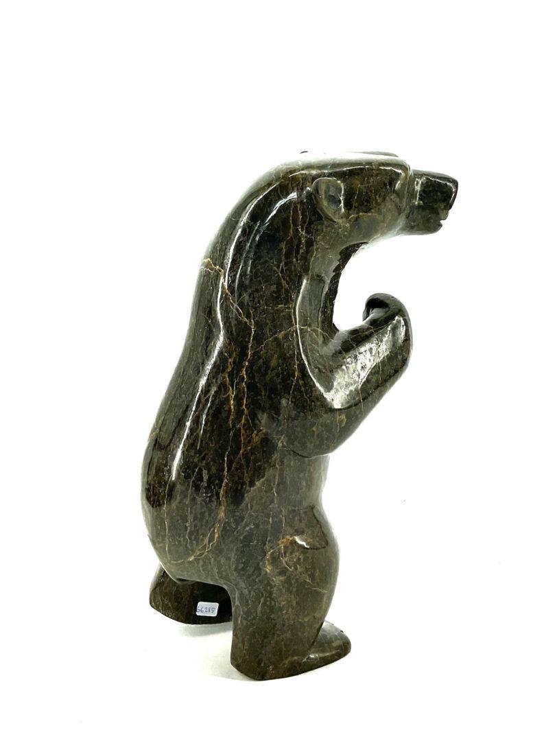 One original Inuit art sculpture hand carved by Kooyoo Peter