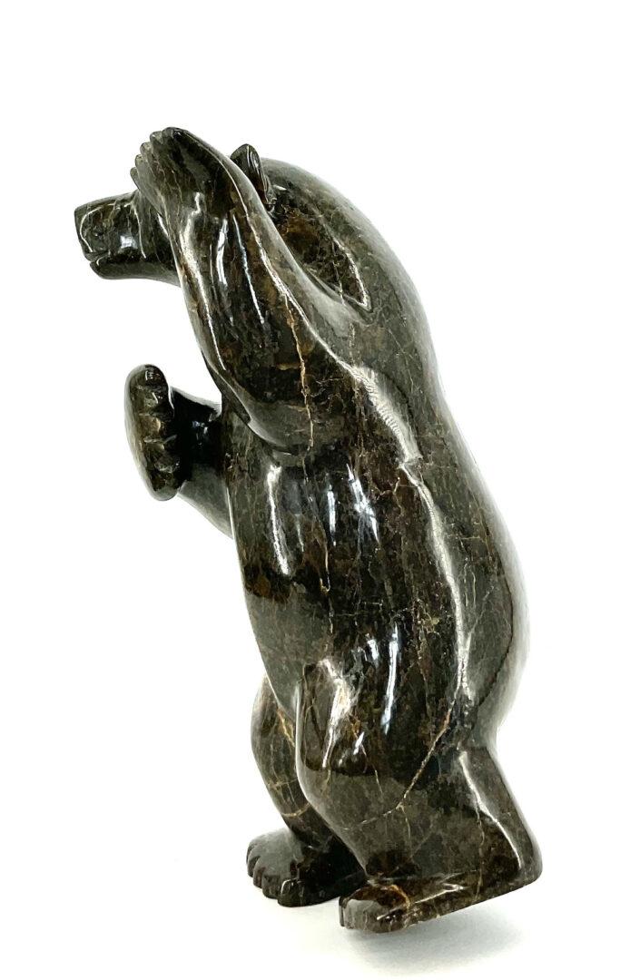One original Inuit art sculpture
