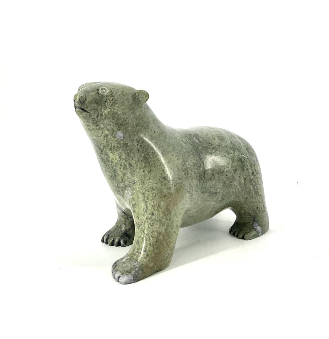 One original Inuit art sculpture hand carved by Nuna Parr