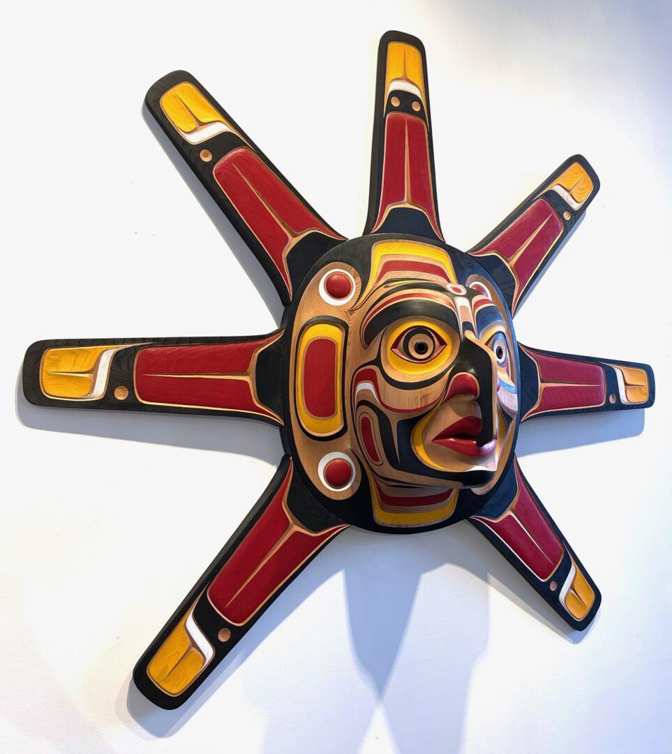 Sun Mask by Ryan Scoular